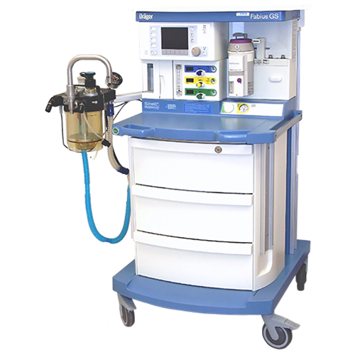 Drager Fabius GS Anesthesia Machine Featuring Advanced