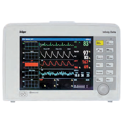 Drager Infinity Delta - Continuous Patient Monitor