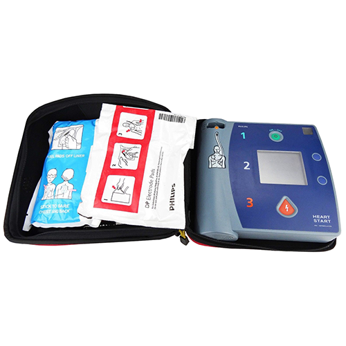 Philips HeartStart FR2 AED Featuring a Biphasic Waveform