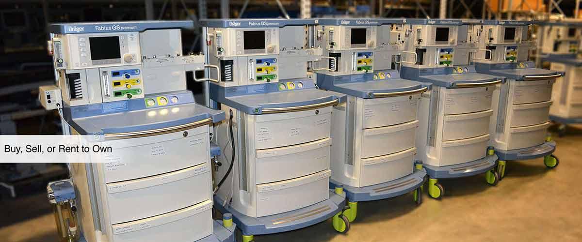 Equipment At Around Half The Price as New