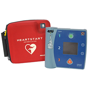 Philips HeartStart FR2+ - Compact, Lightweight, and Portable AED
