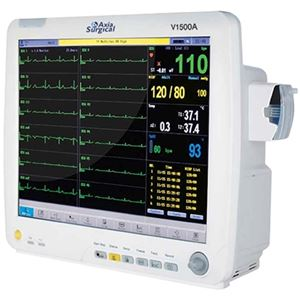 Axia V1500A - Touchscreen Patient Monitors - Soma Technology, Inc.