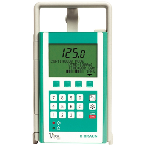 B. Braun Vista Basic - Infusion Pump - Soma Technology, Inc