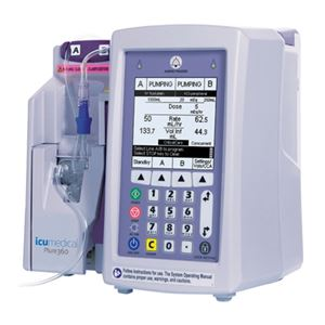ICU Medical Hospira Plum 360 - Infusion Pump - Soma Tech Intl