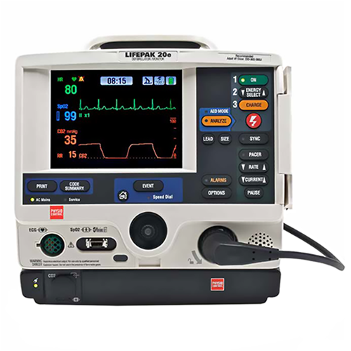 Physio Control Lifepak 20e Defibrillator - Soma Technology, Inc.