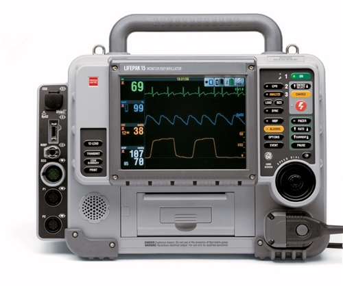 Physio Control Lifepak 15 Defibrillator - Soma Technology, Inc.