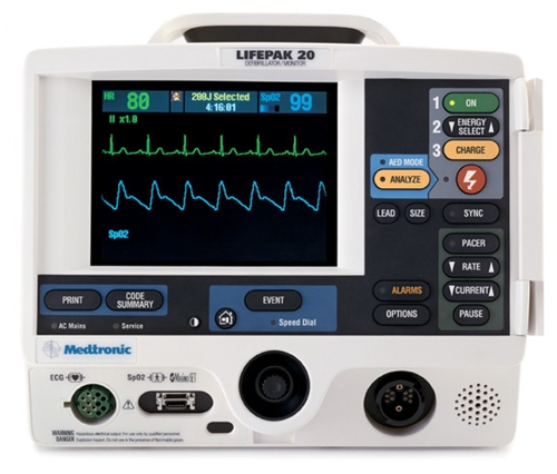 Physio Control Lifepak 20 Defibrillator - Soma Technology, Inc.