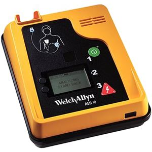Welch Allyn AED 10 - Automatic External Defibrillator - Soma Technology, Inc.