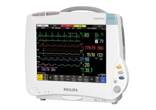 Philips Intellivue MP50 Multiparameter Monitor - Soma Technology, Inc.
