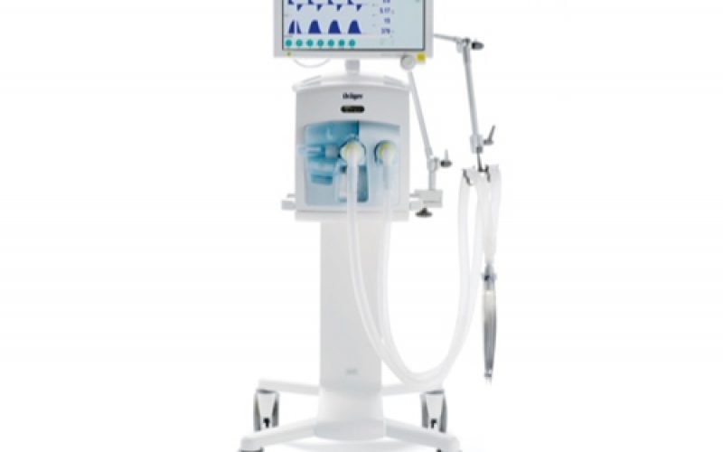 Drager Evita Infinity V500 Ventilator Featuring Breath By Breath