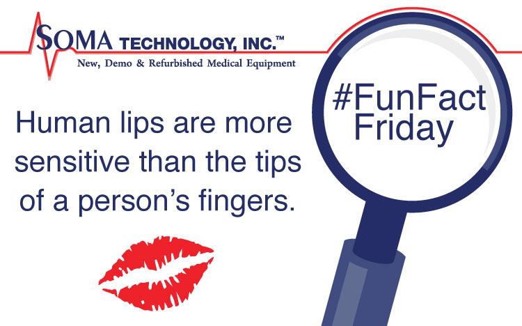 Fun Fact Friday Sensitive Lips - Soma Technology