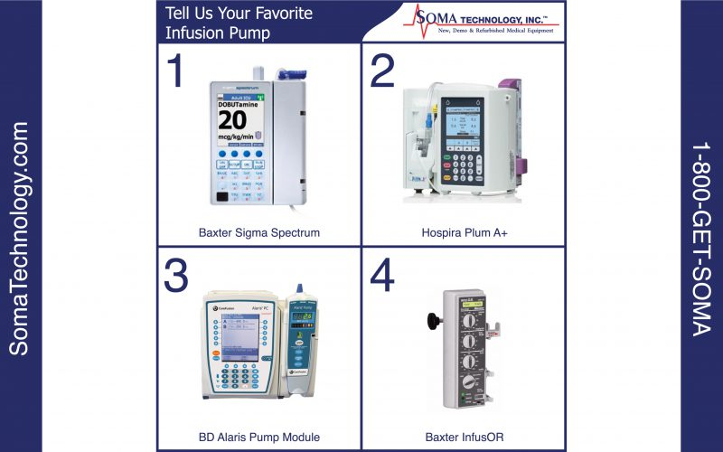 Tell Us Your Favorite Infusion Pump