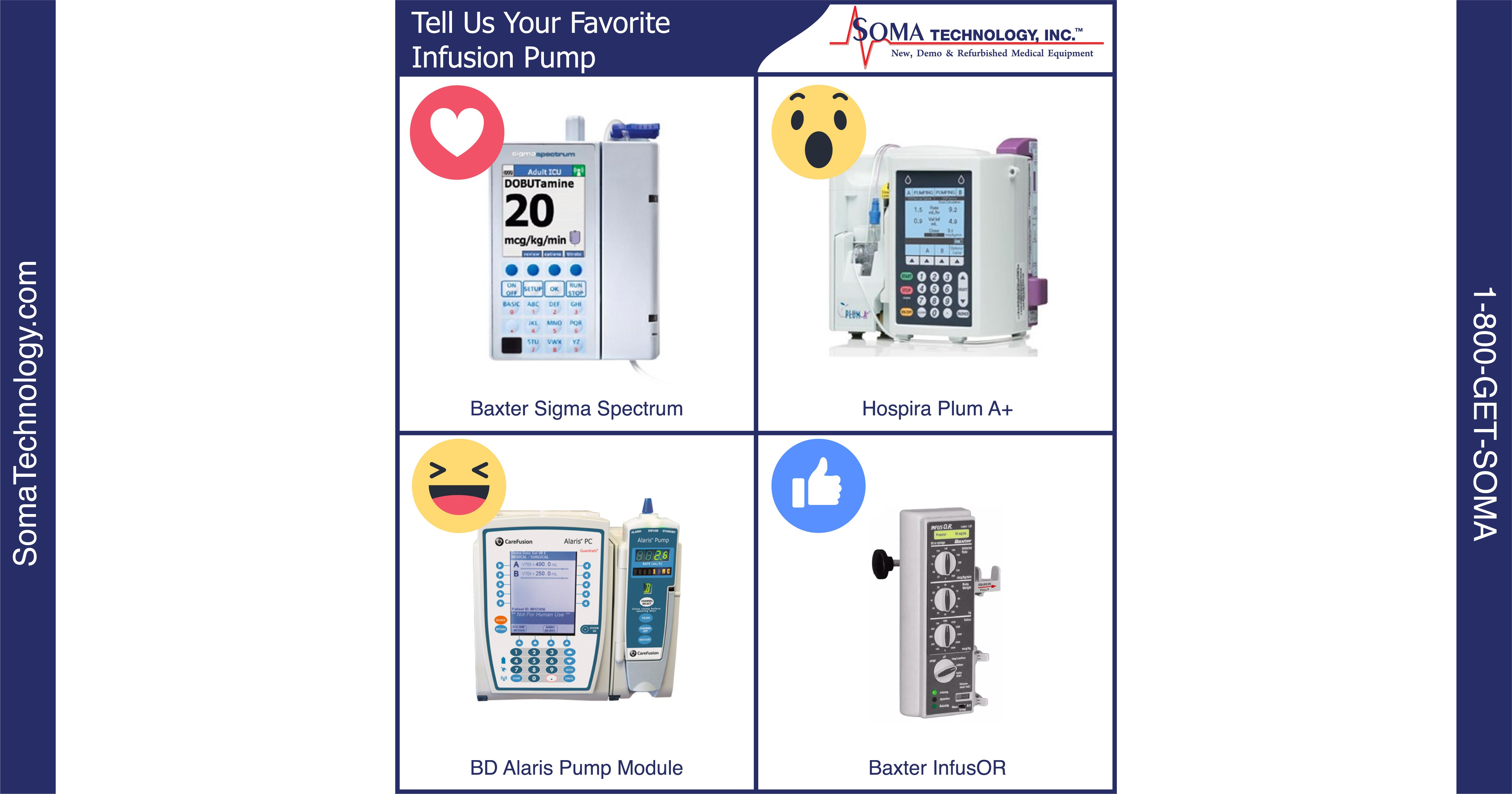 Tell Us Your Favorite Infusion Pump Baxter Hospira Or Bd