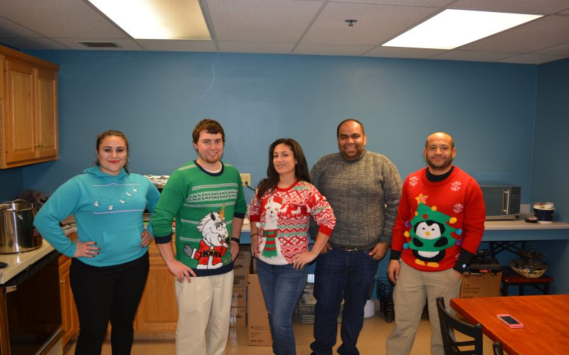 Hot Chocolate Social & Ugly Sweater Day