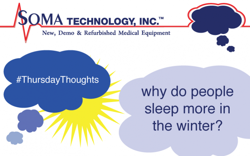 Thursday Thoughts: Why We Sleep More In Winter