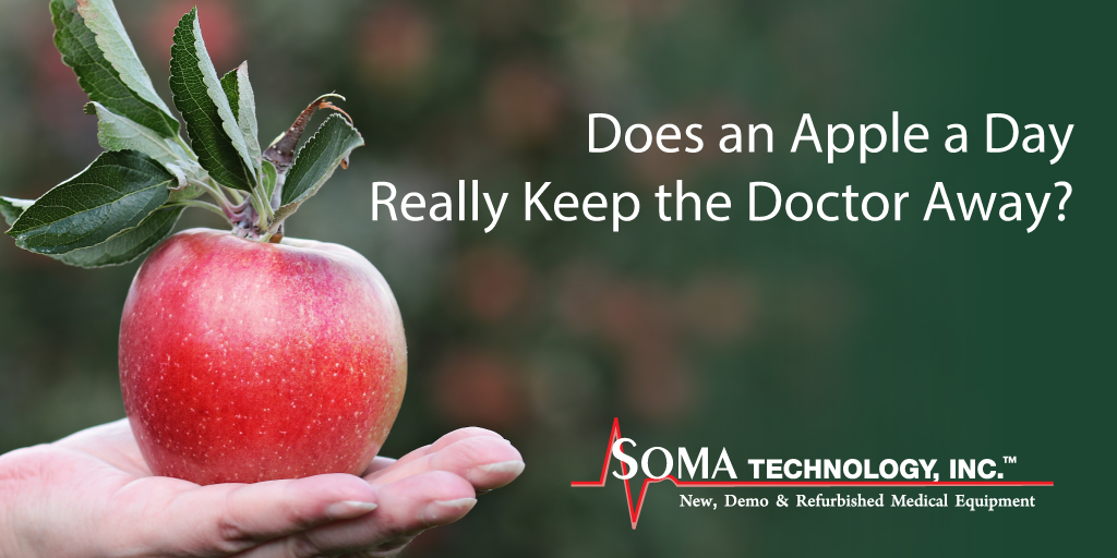 Does and Apple a Day Really Keep the Doctor Away? - Soma Technology, Inc.