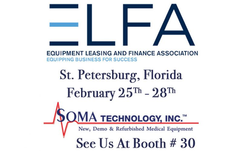 Come Visit Us at ELFA 2018