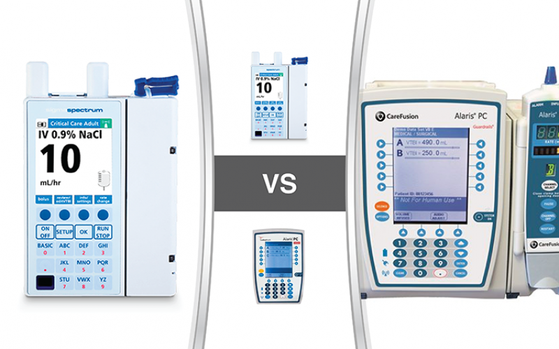 Monday Matchup: Baxter Sigma Spectrum VS BD CareFusion Alaris PC 8015
