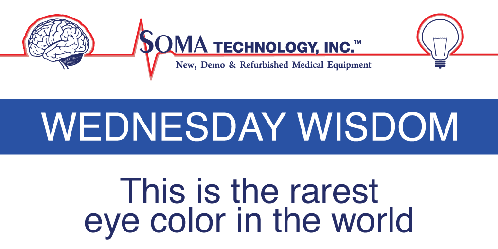 This is the rarest eye color in the world - Soma Technology, Inc.