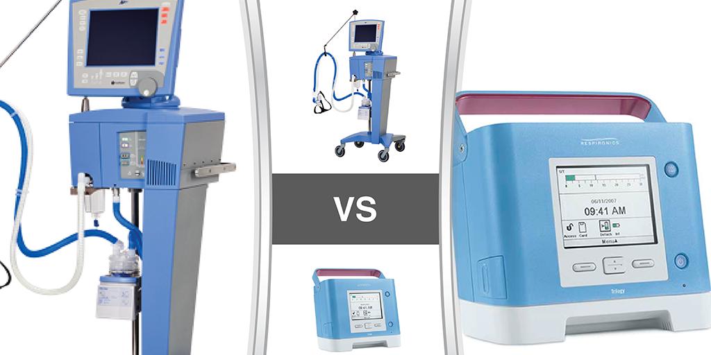 Vyaire CareFusion Avea vs Philips Respironics Trilogy 100 - Soma Technology, Inc.