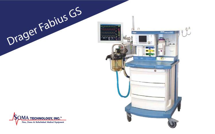 Drager Fabius GS Anesthesia Machine
