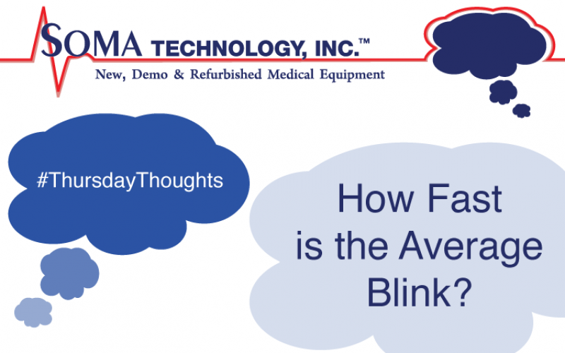 How Fast is the Average Blink?