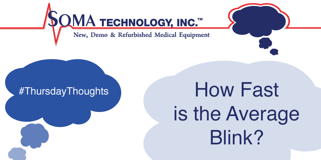 How fast is the average blink? - Soma Technology, Inc.
