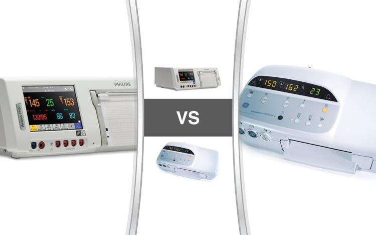 Philips Avalon FM50 Compared to the GE Corometrics 170 - Soma Technology, Inc.