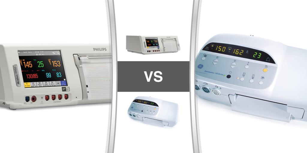Philips Avalon FM50 Compared to the GE Corometrics 170 - Fetal Monitors - Soma Technology, Inc.