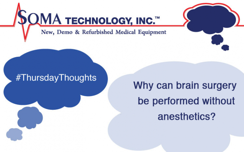 Why Does Brain Surgery Sometimes Not Require Anesthesia?