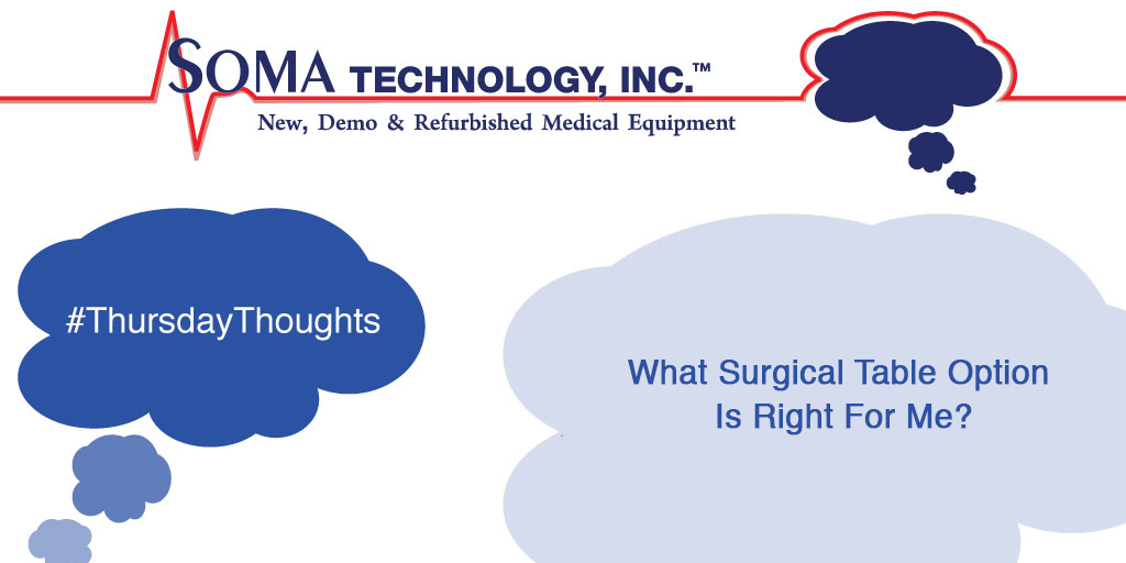 What Surgical Table Option Is Right For Me?