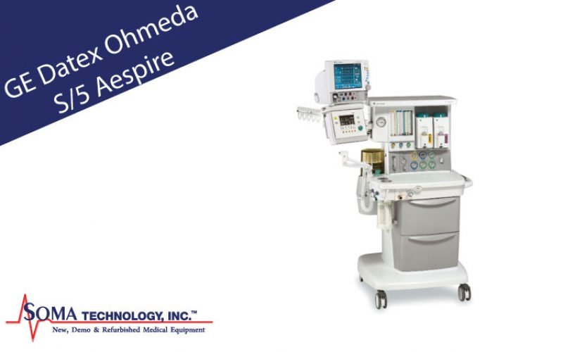 GE Datex-Ohmeda S/5 Aespire Anesthesia Machine