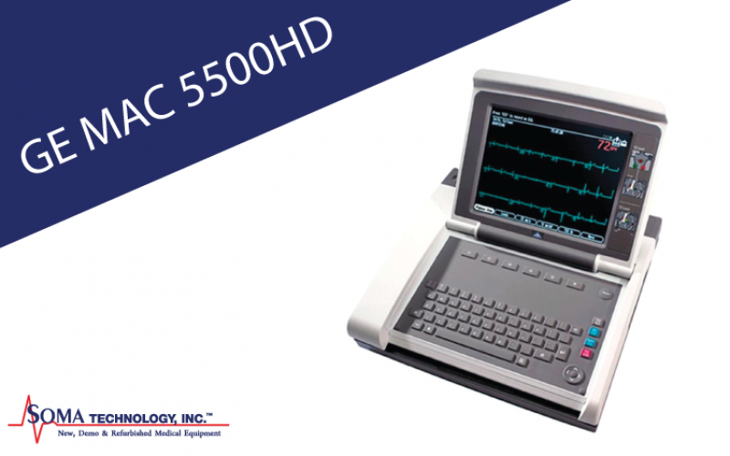 GE MAC 5500HD ECG System