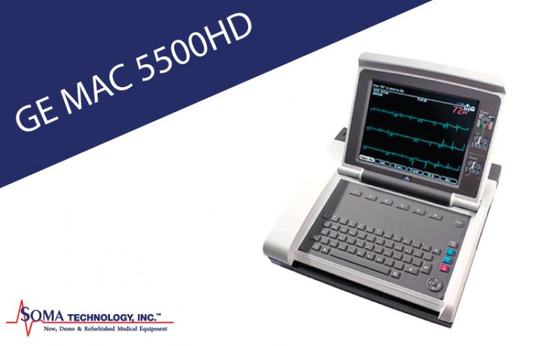 GE MAC 5500HD EKG System