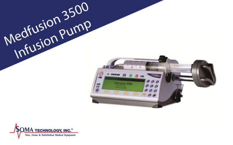 Medfusion 3500 Infusion Pump Featuring Post Occlusion Bolus Reduction