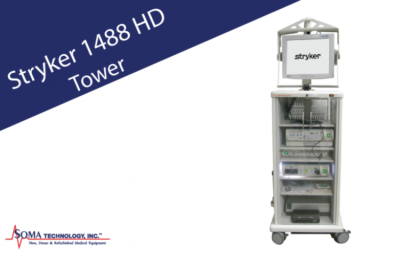 Stryker 1488 HD Endoscopy Tower