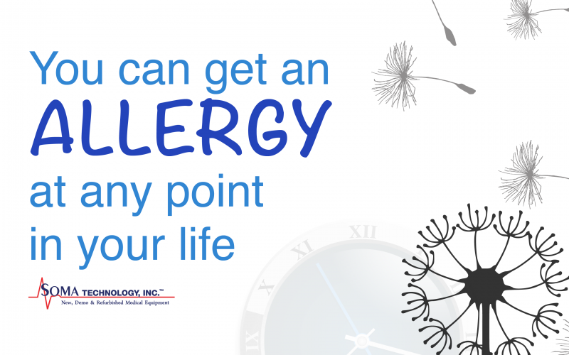 You Can Get an Allergy at Any Point in Your Life
