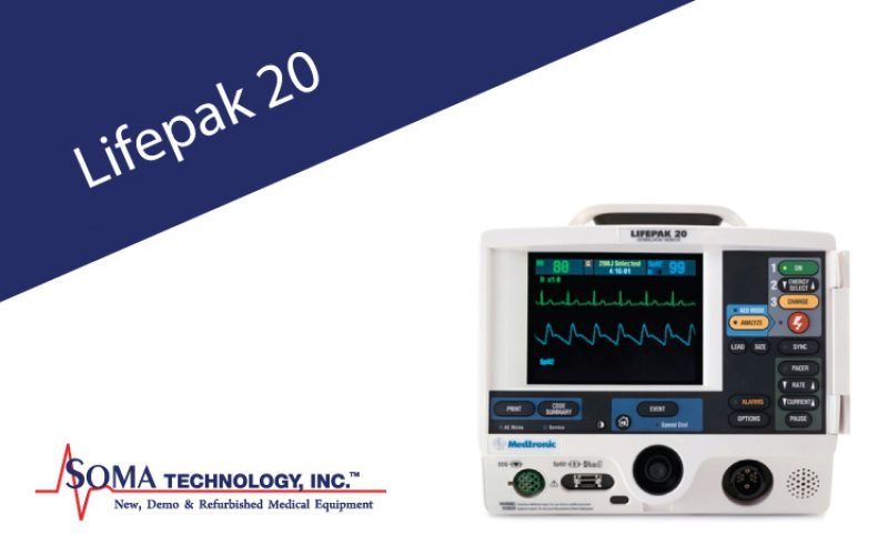 Physio-Control Lifepak 20 Defibrillator/Monitor