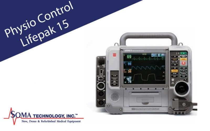 Physio Control Lifepak 15 Defibrillator and Monitor