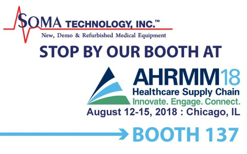 Fun Fact Friday: Soma Technology Will Be at AHRMM 2018