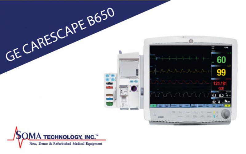 GE CARESCAPE B650 Multiparameter Monitor