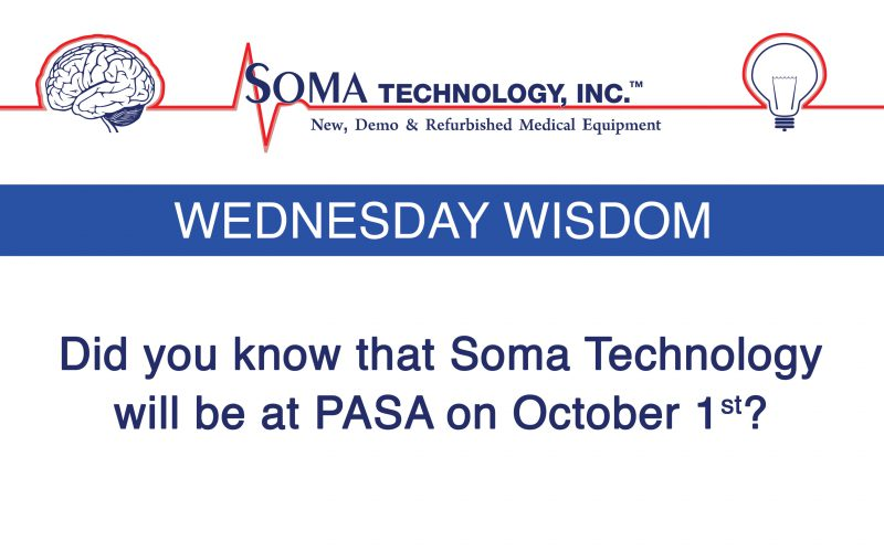 Wednesday Wisdom: Did You Know We Will Be at PASA?