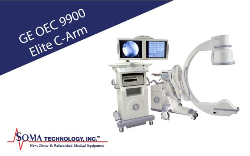 GE OEC 9900 Elite C-Arm with X-ray System