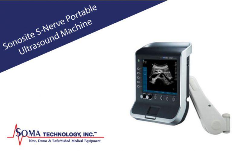 Sonosite S-Nerve Portable Ultrasound Machine