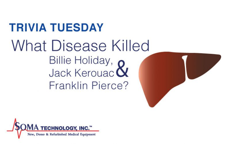 Trivia Tuesday: What Disease Killed Billie Holiday, Jack Kerouac, and Franklin Pierce?