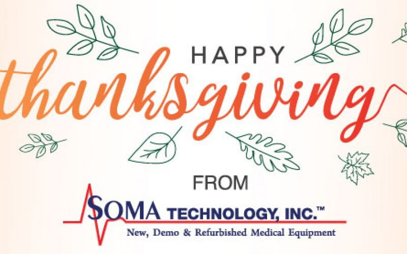 A Very Soma Thanksgiving From Us To You