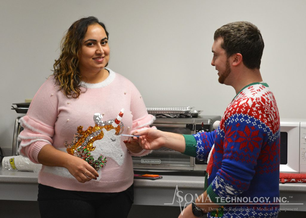 Ugly Sweater Competition 2018