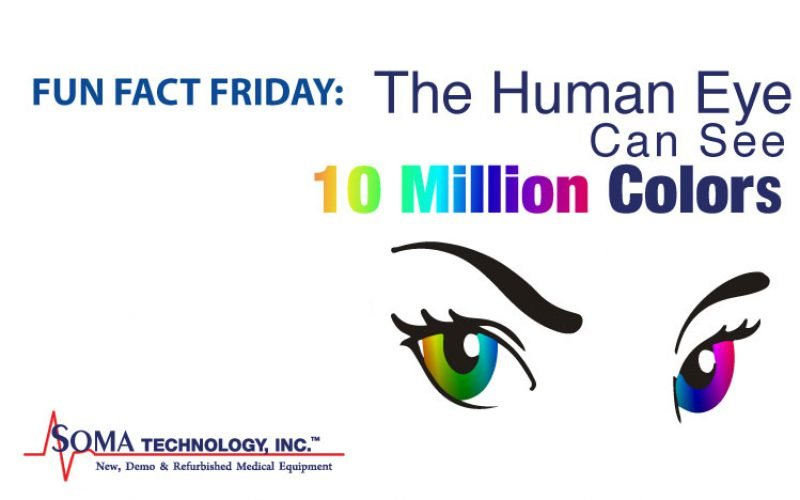 Fun Fact Friday: The Human Eye Can See 10 Million Colors