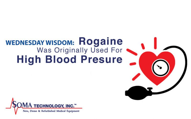 Wednesday Wisdom: Rogaine Was Originally Used For High Blood Pressure