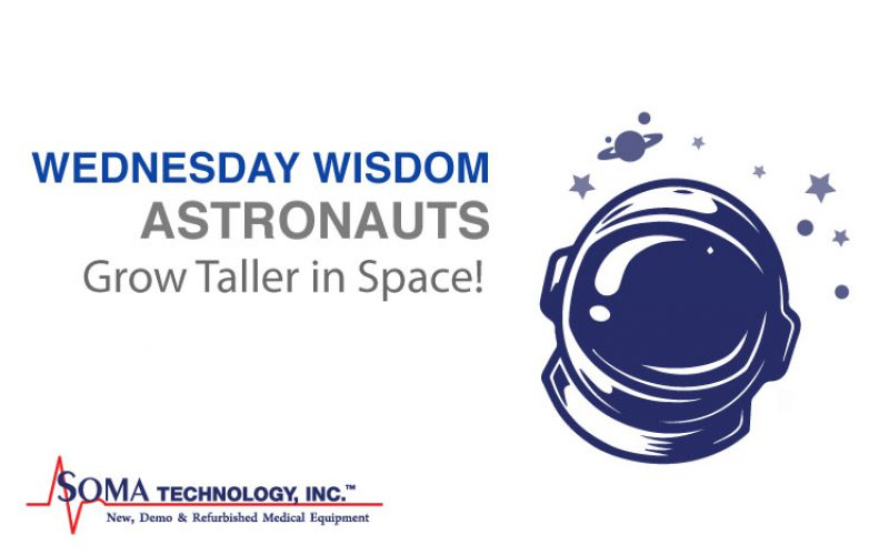 Wednesday Wisdom: Astronauts Grow Taller in Space!